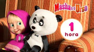 Masha E O Urso 🐻 Priminho 🐼👱♀️ Compilação 3 🎬 1 Hora