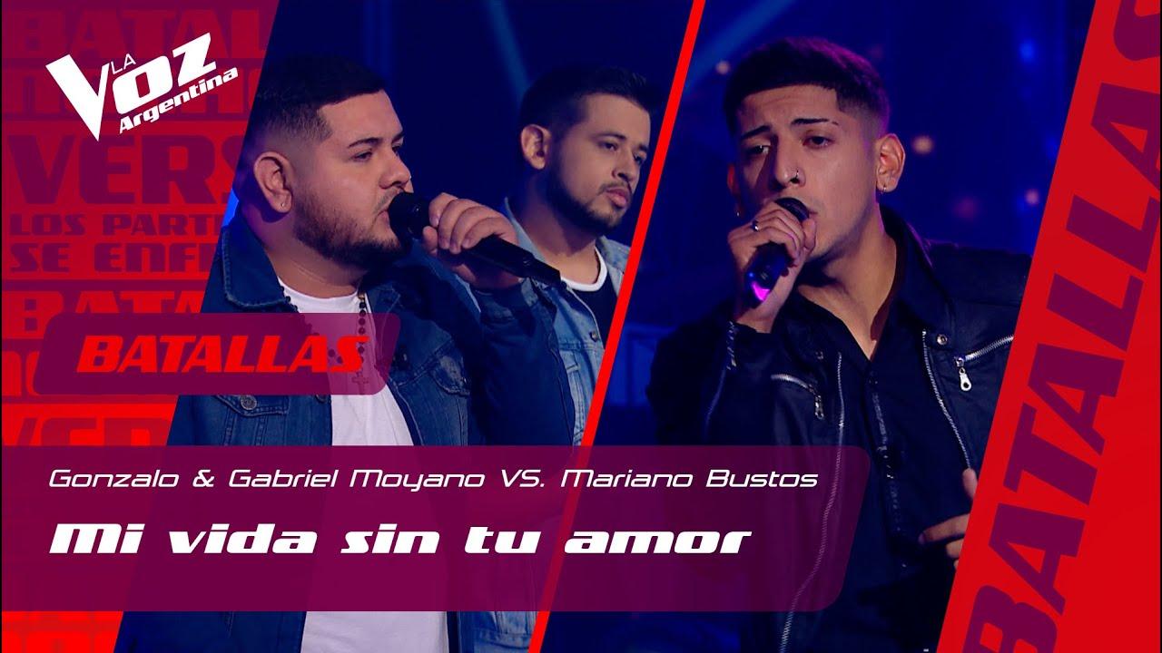 """Hermanos Moyano VS. Mariano Bustos: """"Mi vida sin tu amor"""" - Batallas - La Voz Argentina 2021"""