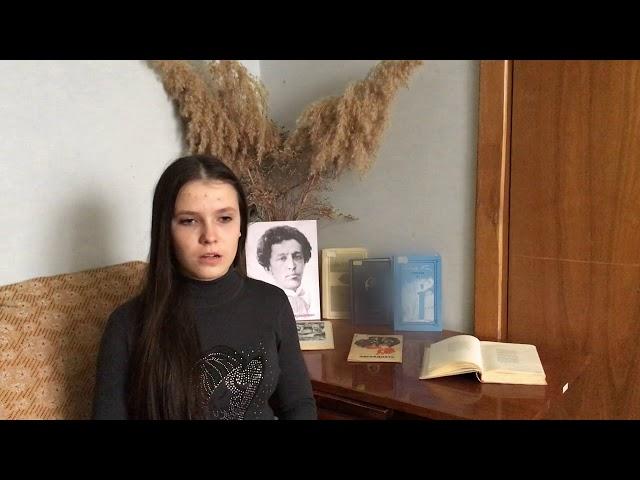 Изображение предпросмотра прочтения – ВикторияШендра читает произведение «Ночь, улица, фонарь, аптека…» А.А.Блока