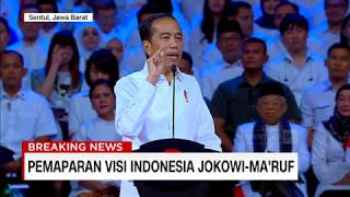 Jokowi Janji Percepat Infrastruktur Besar di Periode Kedua