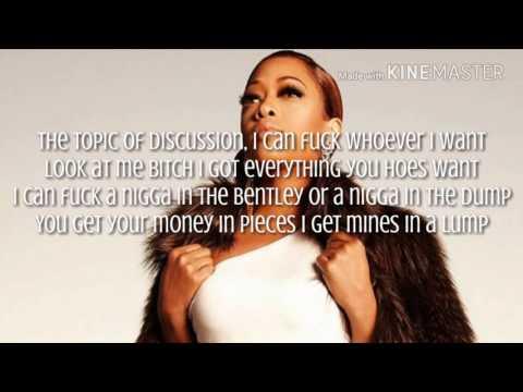 Trina - Killin You Hoes Lyrics