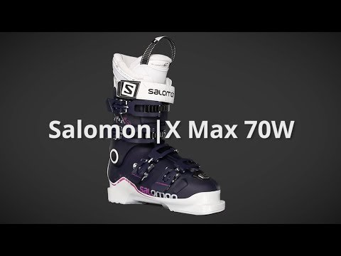 2018 Salomon X Max 70W Womens Boot Overview by SkisDotCom