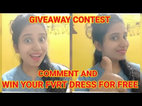 Giveaway Challenge   Take away your favourite Dress For Free   Beauty with Fashion   Fashion Point