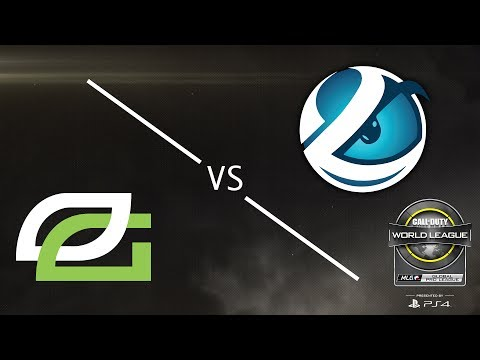 OpTic Gaming vs. Luminosity - CWL Global Pro League Stage 1 Playoffs - Championship Sunday