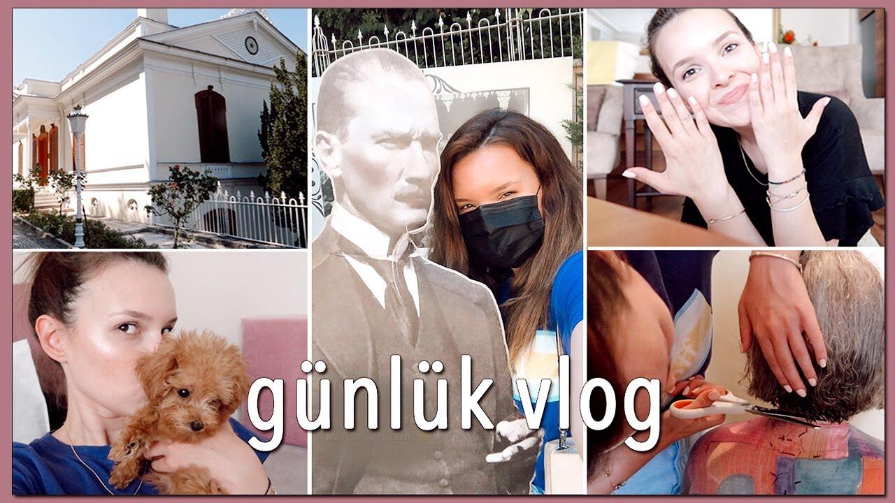 BURSA'DA 2 GÜN   Saç Kesimi, Manikür, Atatürk Köşkü, Ailem..⭐️