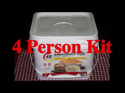 Survival Food Review: Augason Farms 48-Hour Emergency Food Supply 4 Person Kit
