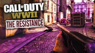 COD WWII Resistance DLC Gameplay LIVE