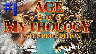 Age of Mythology - Queda do Tridente - Sinais #1 (Gameplay / PC / PTBR)