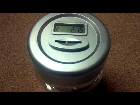 Random Review 23: Coin Counting Money Jar
