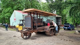 1917 Holt 120 Tractor - First Drive in 80 Years
