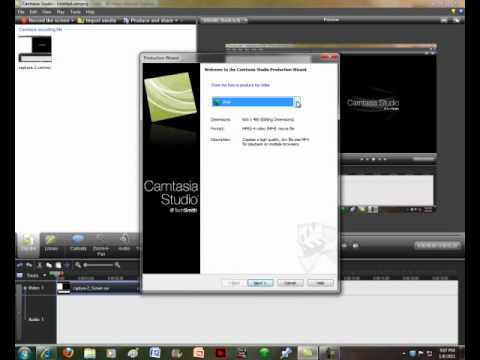 Tutorial - How To Convert Your Camtasia Video Files To Windows Media Files, (etc.)