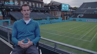 """Andy Murray: """"There were some dark times, but I'm so excited to be back."""""""