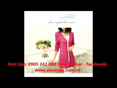 Áo Len Cardigan 2 Túi hồng Bán Ở Đâu Hot Deal Giá Rẻ