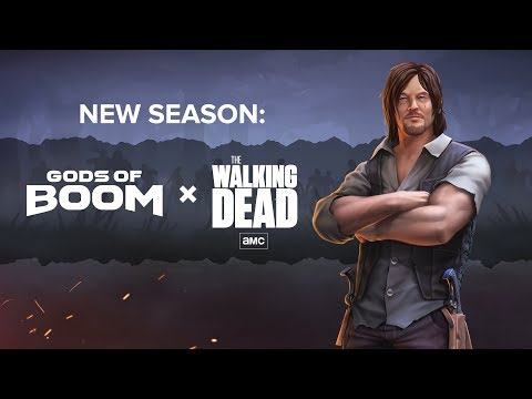 Gods Of Boom The Walking Dead Season Trailer