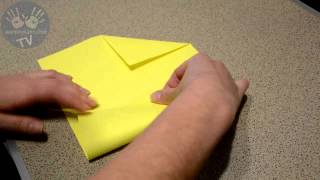 Как сделать оригами конверт из бумаги своими руками (How to Make an Origami Envelope)(Нам частенько приходится покупать подарочные конверты для того чтобы положить туда открытку, деньги, запис..., 2015-02-25T18:05:28.000Z)