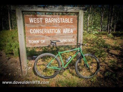 Trail of Tears, West Barnstable, MA / Cape Cod MTB trails