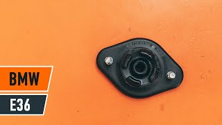 How to replace Top strut mount on BMW X5 (E53) - video tutorial