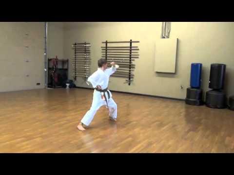Lincoln Budokan, Heian Sandan Kenkojuku Shotokan Karate