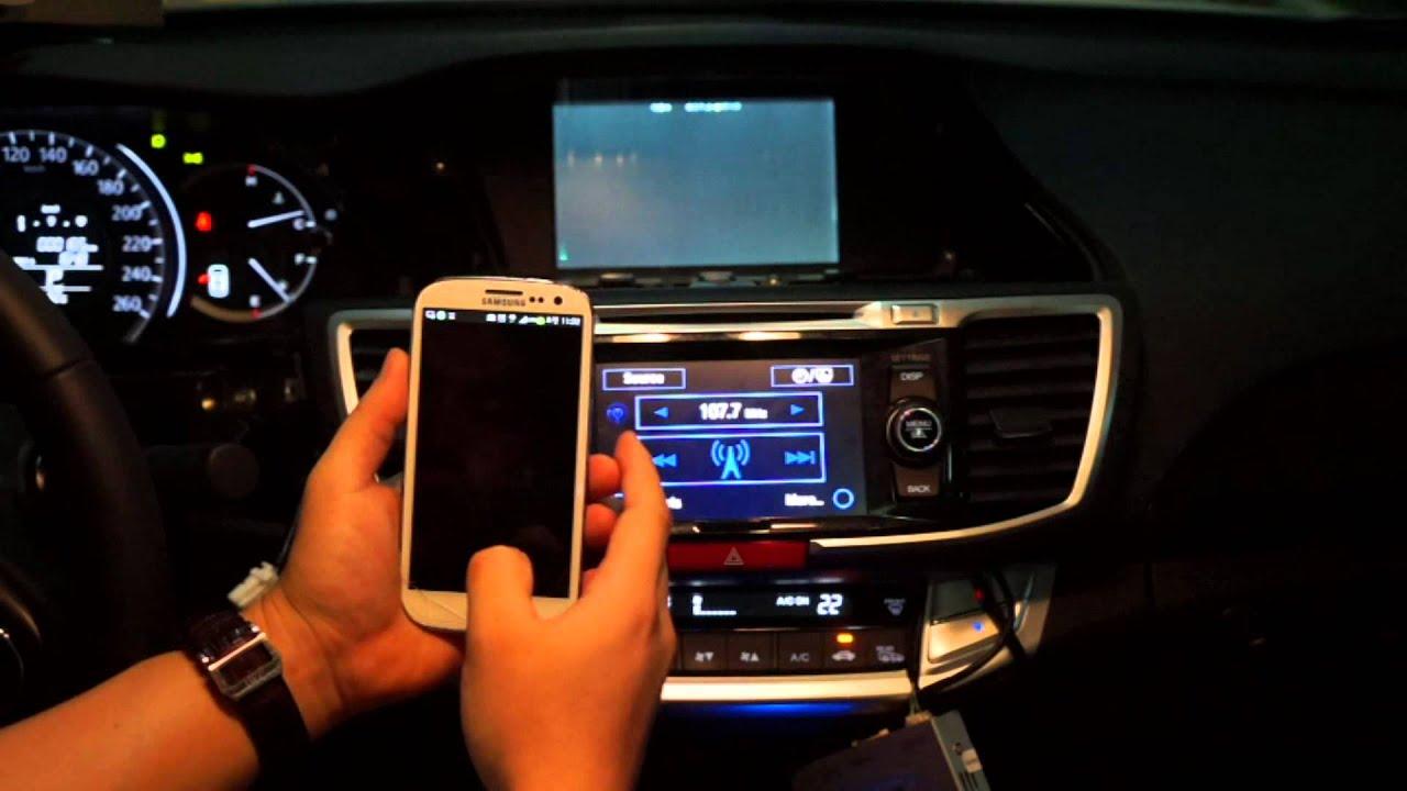 Honda Accord 2014 Mirroring Galaxy Android Doovi