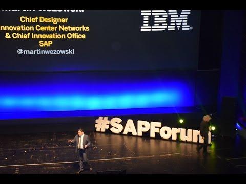 SAP Forum Athens 2017 | Timo Elliott