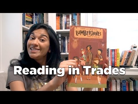 Adventures of a Comic Book Newbie: Reading in Trades
