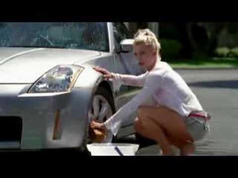 Nicollette Sheridan Car Wash