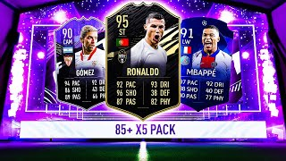 THIS IS WHAT I GOT IN 30x 85+ X5 PACKS! #FIFA21 ULTIMATE TEAM