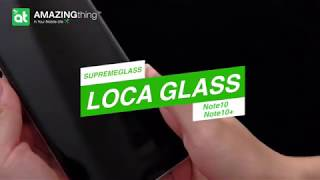 SUPREMEGLASS LOCA GLASS for Note10/Note10+ with Installation tool
