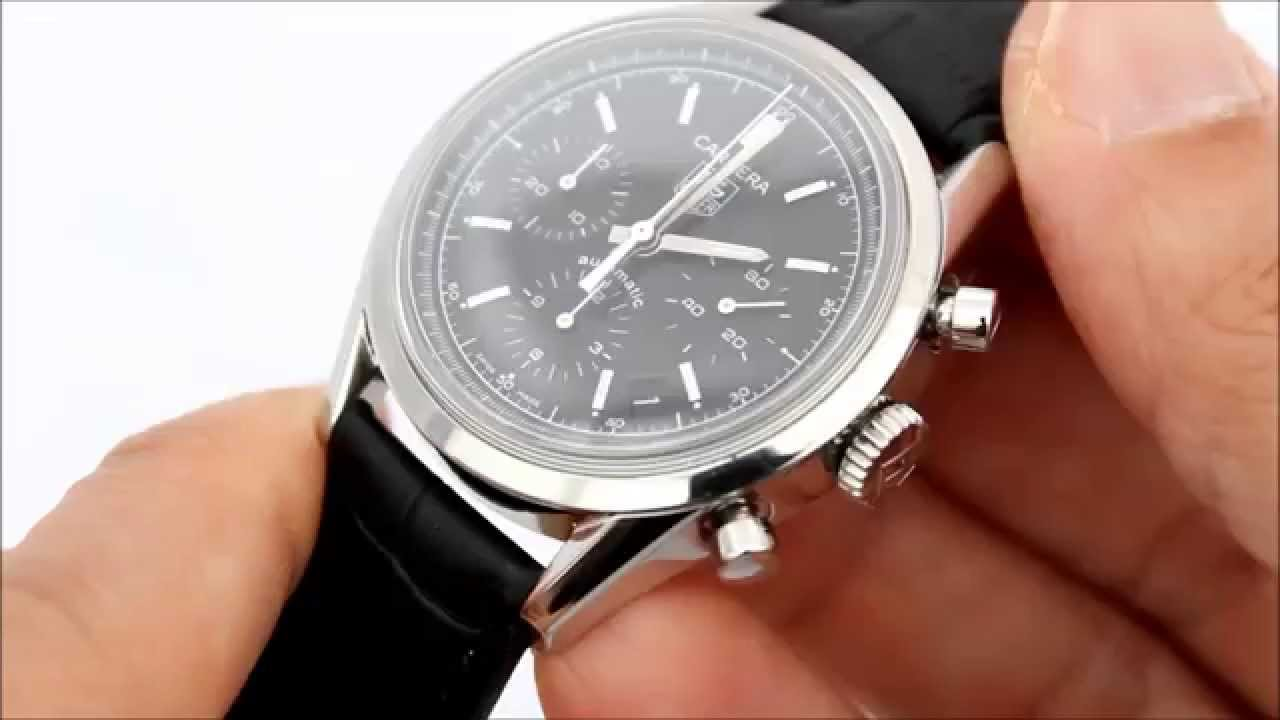 TAG Heuer Carrera Automatic Chronograph CV2111-0 Review