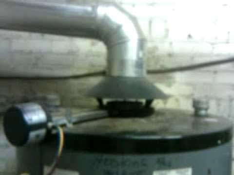 Kier Property Management:  (Illegally Vented Water Heater)