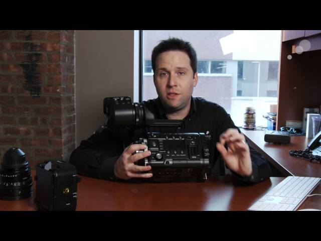 At the Bench: Introduction to the Sony PMW-F55 - Part 1