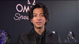 俳優の三浦翔平も登場した、「オメガ」の 「スピード・マスター60周年ア...