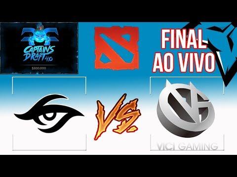 [PT-BR] Team Secret (Europa) vs VIci Gaming (China) - Final - Captains Draft 4.0