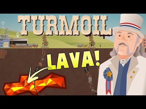 Turmoil The Heat Is On Gameplay - Lava, Gambling and Deep Oil Drilling -  Turmoil DLC Gameplay