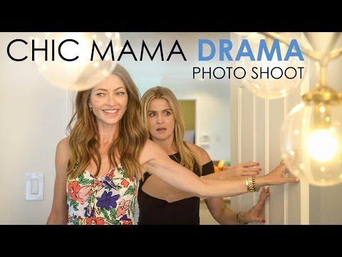 Chic Mama Drama  Photo Shoot Rebecca Gayheart