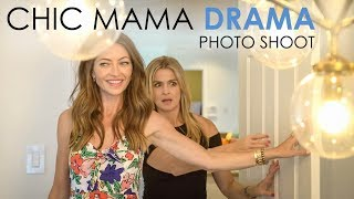 Chic Mama Drama - Photo Shoot (Rebecca Gayheart)