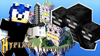Minecraft Sonic The Hedgehog - SONIC PLAYS HYPIXEL MINI WALLS [101]