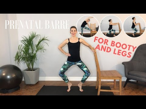 Pregnancy Barre Class for Sexy Booty & Legs!