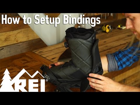 Snowboarding: How to Set Up Bindings