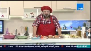 مطبخ 10/10 - طريقة عمل بيتزا بالخبز الشامي مع الشيف أيمن عفيفي