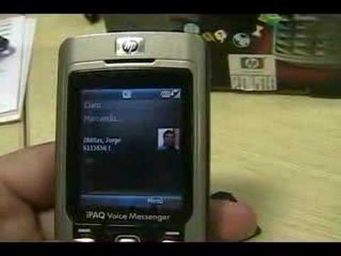 HP ipaq 510 Voice Messenger
