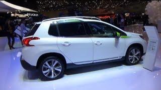 2008 PEUGEOT SUV CROSSOVER NEW CAR SALON AUTO GENEVE GENEVA 2013 АВТОМОБИЛЬ ЖЕНЕВА