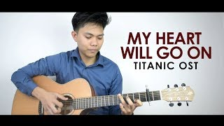 """Download Lagu (Titanic OST) """"My Heart Will Go On"""" by Celine Dion Fingerstyle Cover by Mark Sagum 