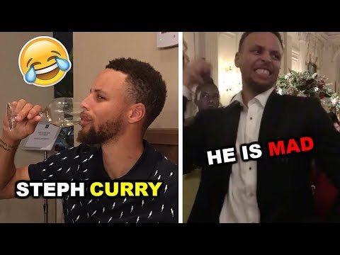 Thumbnail: Steph Curry and Kyrie Irving MAKE FUN of LeBron James Ft. GSW Players (NBA FUNNY MOMENTS JULY 2017)