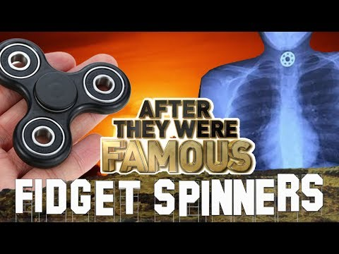 FIDGET SPINNERS - AFTER They Were Famous - CHOKING HAZARD