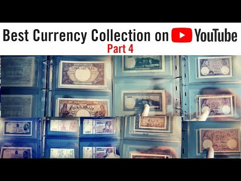 WORLD CURRENCY COLLECTION - Rare Paper Money And Banknotes (Part 4)