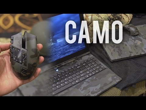 Aorus Military Camo Gaming Notebooks / Peripherals?!