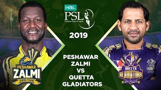 Match 34: Final Full Match Highlights Peshawar Zalmi Vs Quetta Gladiators | HBL PSL 4 | HBL PSL 2019