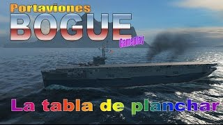 World of warships - Portaviones Bogue gameplay CB T5 USA