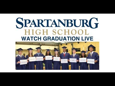 Spartanburg High School Graduation 2019